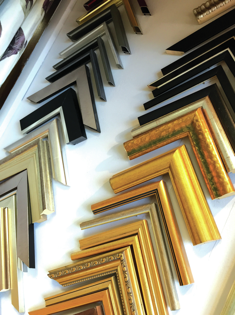 Weaver gallery northwich picture framing get creative and arrange your photos within one frame or even on different levels jeuxipadfo Choice Image